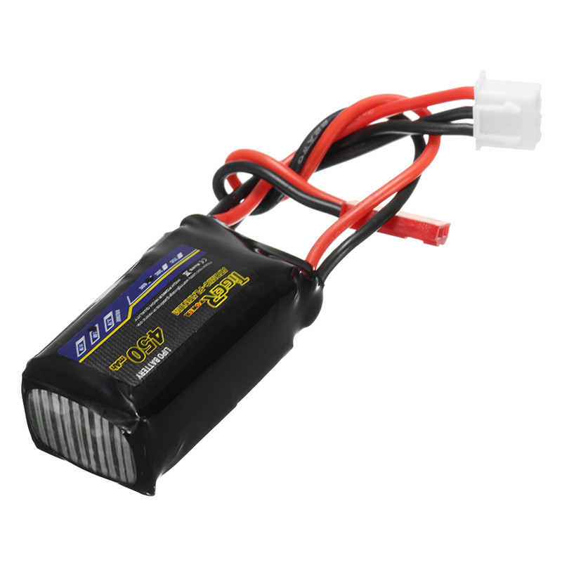 2018 Newest Tiger Power 7.4V 450mAh 60C 2S Lipo Battery JST Plug Connector for RC Racing Drone Quadcopter DIY Spare Part Accs tiger power 11 1v 550mah 60c 3s lipo battery jst plug for rc fpv racing camera drone spare parts accessories