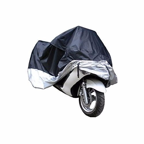 Black UV Protection Motorcycle Waterproof Cover Rain Protection Breathable XXL 4