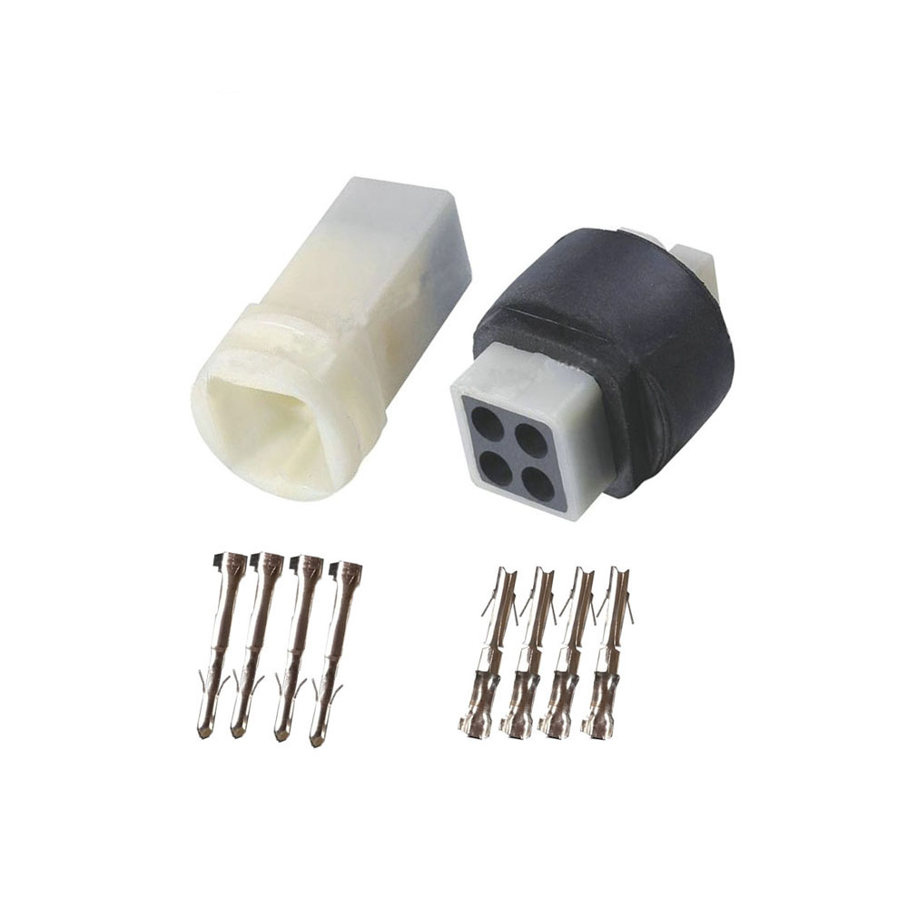 10 Sets 4Way Female And Male Electric Housing Connector Plug 3 Pin Socket DJ3041-2.3-11/21