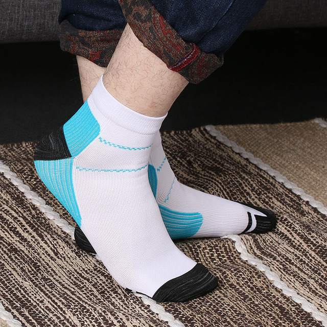 1 Pair High Quality Foot Compression Socks For Plantar Fasciitis Heel Spurs Arch Pain Comfortable Socks Venous New Socks 4