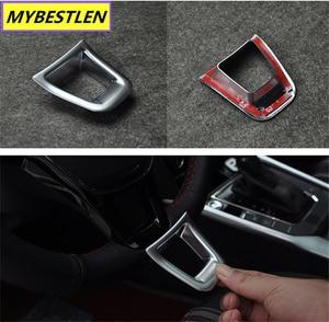 Image 5 - New ABS Car steering wheel interior sticker for VW Volkswagen Golf 7 POLO Santana Jetta Bora Sagitar Lavida Car Syling