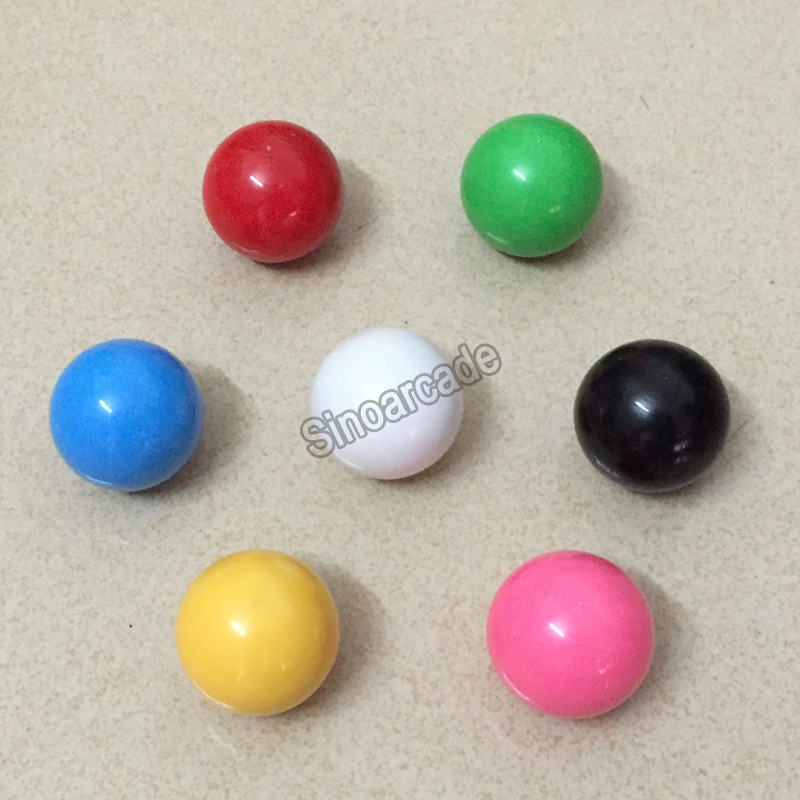 Arcade Joystick Վերևի գնդակի բռնակ SANWA, ZIPPYY, SEIMITSU Joystick- 35 մմ Top Ball 7 գույնը մատչելի է