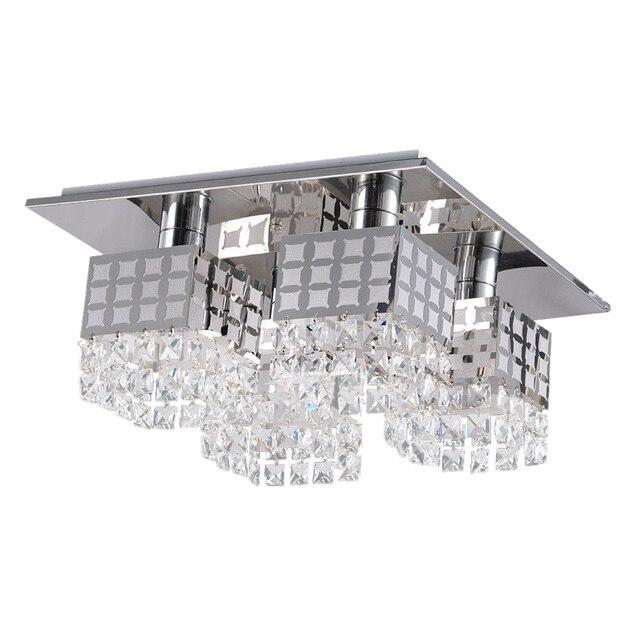 praktische moderne kristall kronleuchter deckenleuchte lampe anhnger moderne zeitgenssische mit 4 lichter - Kronleuchter Deckenleuchte