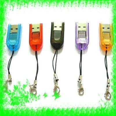 Free Shipping+100pcs/lot MICRO SD TF CARD Mini USB 2.0 READER 2GB 4GB 8GB 16GB