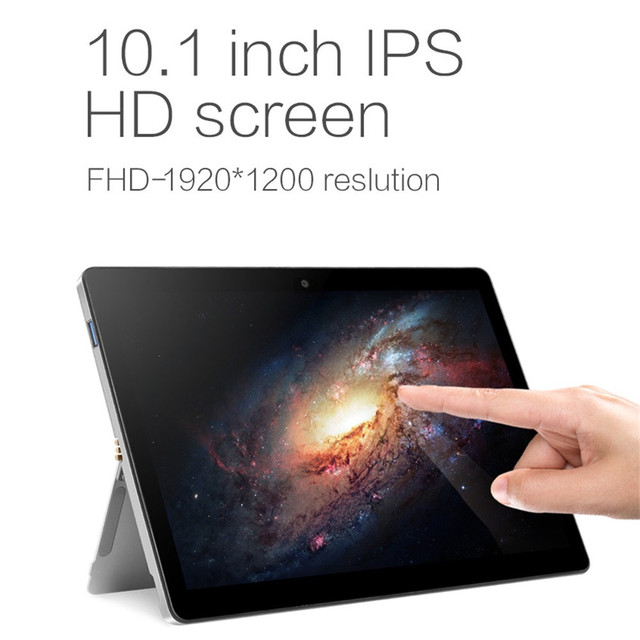 1.5GHz 8GB+128G Windows10 10.1 Inch 1920 x 1200 Resolution Tablet PC WiFi AU.27 2