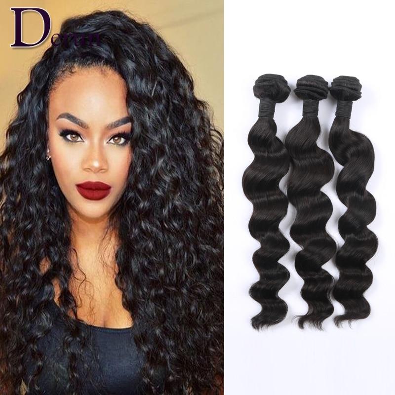 Loose Curly Human Hair Weave