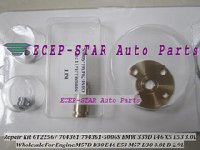 Turbo Repair Kit rebuild GT2256V 704361 704361-5006S Turbocharger For BMW 330D 330 D E46 X5 E53 3.0D 99- M57 D30 M57D 3.0L 2.9L