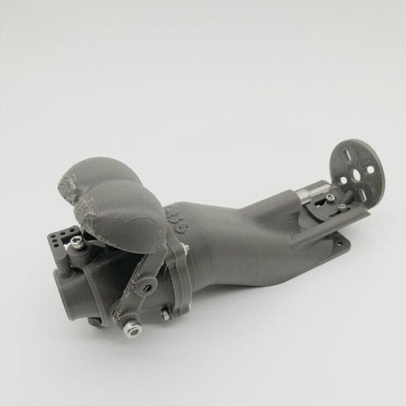 1 stücke DIY Fernbedienung Boot Zubehör 36mm Spray Wasser Thruster Wasser Jet Pumpe Triebwerk Kit 3D Drucken w /umkehr