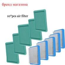 5 Sets Воздуха/Фильтр Предварительной Очистки Очиститель для Briggs & Stratton 491588 491588 S 399959 5043 + До 493537 Мастер