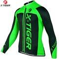 X-Tiger 2019 зимняя одежда для велоспорта, одежда для горного велосипеда, Майо Ropa Ciclismo Invierno, термо флисовая одежда для горного велосипеда, Джерси ...