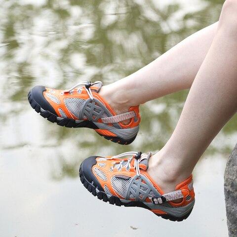 tkn 2019 primavera caminhadas sandalias mulheres aqua sapatos de agua respiravel ao ar livre trekking