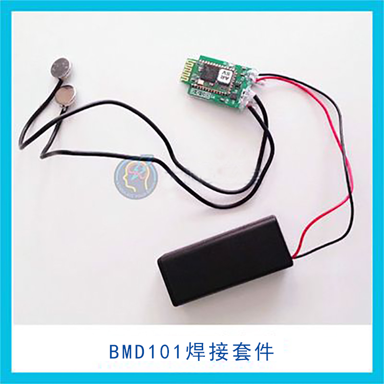 BMD101 ECG Sensor Module DIY Electronic Kit Welding Finished Product Heart Rate HRV Support Two Development ad8232 ecg and heart rate hrv acquisition development board bluetooth 4 acquisition monitoring sensor module