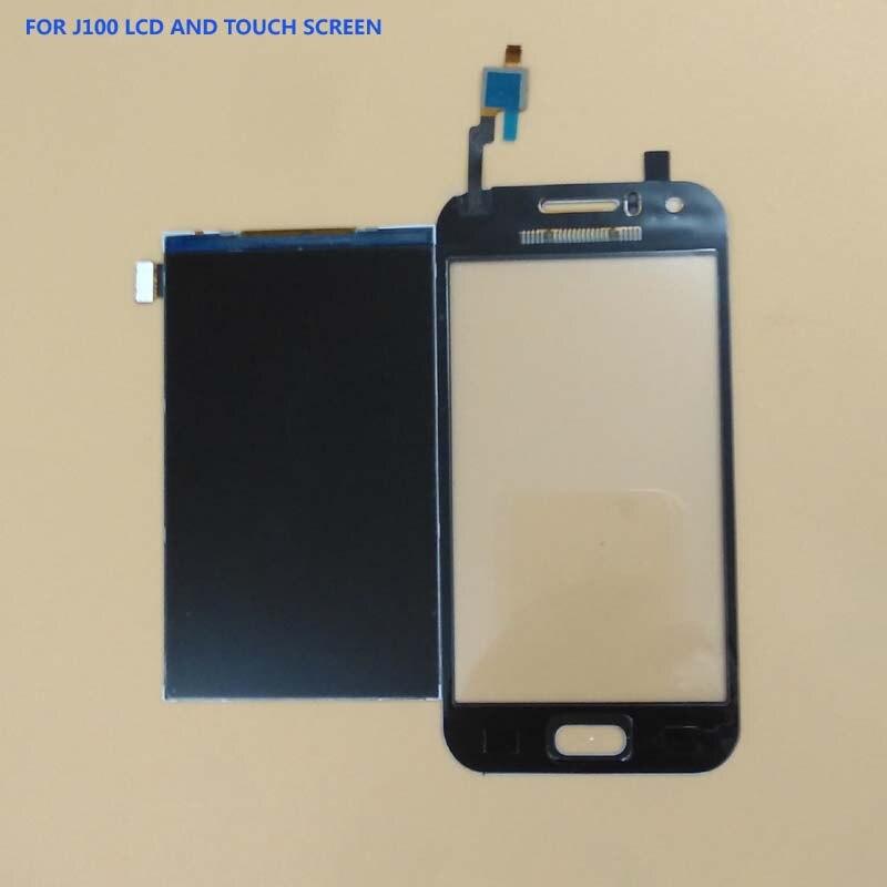 100% Test For Samsung Galaxy J1 J100F J100H J100 SM-J100 Touch Screen Digitizer Sensor Panel Glass + LCD Display Monitor Module