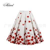 hot selling printing half length skirt ladies wish foreign trade exclusively black skirt streetwear long skirt korean skirt