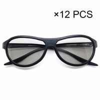 12 pcs/lot remplacement AG-F310 3D lunettes polarisées passif lunettes pour LG TCL Samsung SONY Konka reald 3D cinéma TV ordinateur