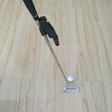 Golf Putter Training Aim Line Corrector Improve Aid Tool Practice Laser Sight Pointer Putting Training Black Golf Accessories