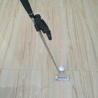 Linha Corrector Objectivo Melhorar A Ferramenta Ajuda Prática Formação Taco de golfe Acessórios de Golfe Colocando Treinamento Visão Laser Pointer Preto
