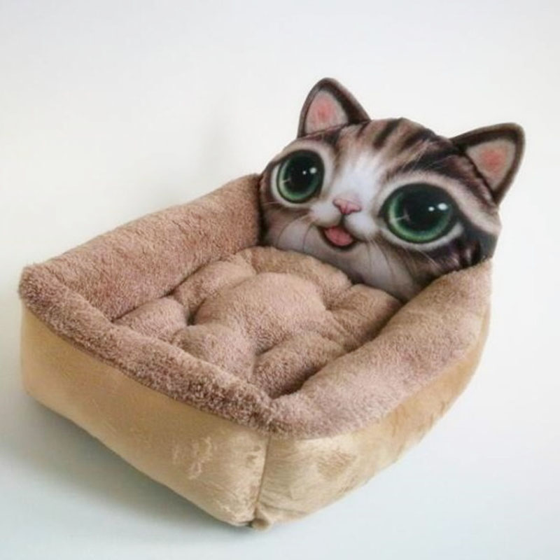 Tailup Soft Short Plush Pet Dog Bed Winter Warm Cat Sofas House Breathable Puppy Products S M In Houses Kennels Pens From Home Garden On Aliexpress