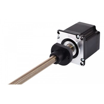 150mm Length Nema 23 External Linear Stepper Motor 2.0A 4-wire with Tr11x2 Lead Screw for 3D Printer