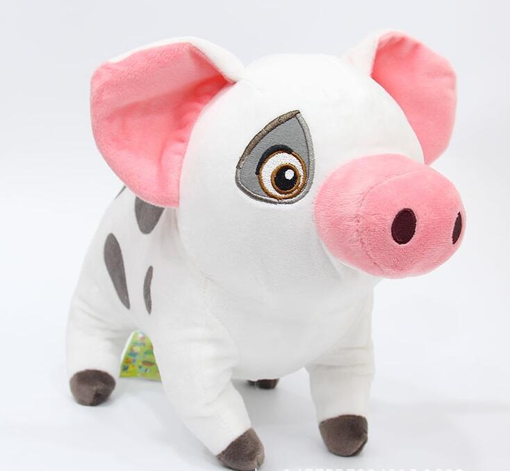 "Pua Pig Cute Plush Toy Doll Stuffed Animal 8 1//2/"" H Disney Authentic Moana"