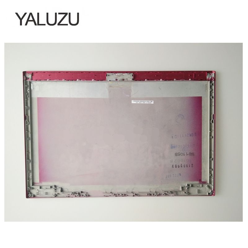 YALUZU 99% NEW Laptop Top LCD Back Cover case for SONY for vaio SVS13 025-400A-2585-A red wzsm wholesale brand new lcd flex video cable for sony vaio svs13 svs131 svs13a v120 laptop cable p n 364 0211 1104 a