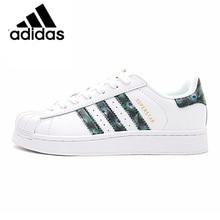 Original Authentic Adidas Clover Superstar woman's Skateboard Shoes