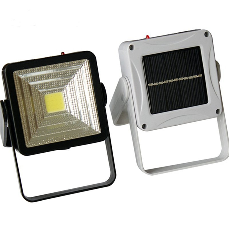 Smuxi 2W Rechargeable Portable Solar LED Flood Light Outdoor Camping Emergency Lamp USB Charging usb rechargeable portable led lamp bulb emergency light with switch high quality