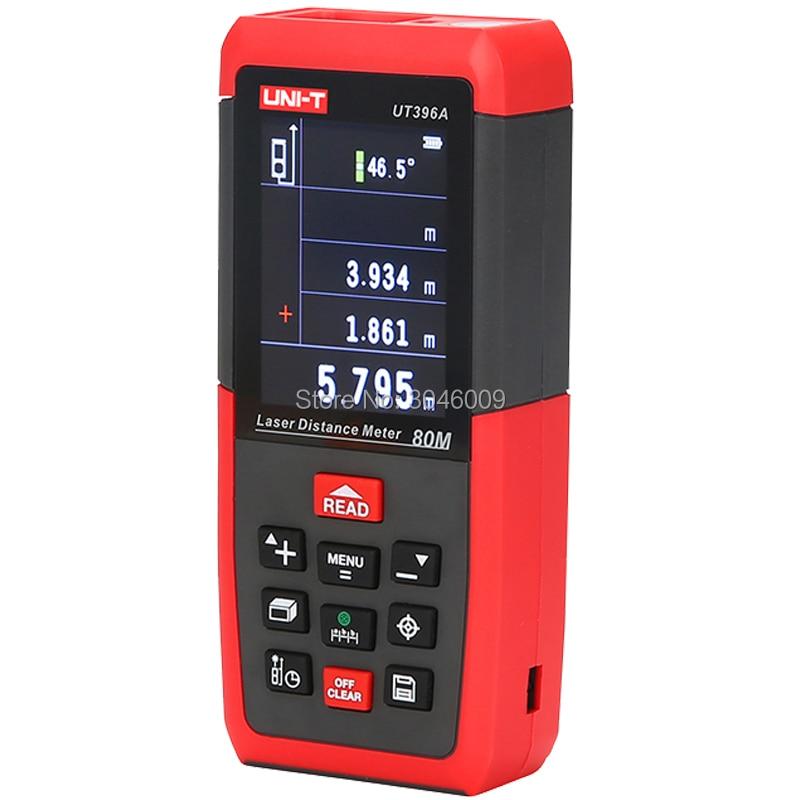 UNI-T UT396A 80 M professionnel couleur laser télémètre électronique niveau données stockage caméra auxiliaire USB fonction de connexion - 4