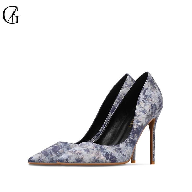 GOXEOU 2018 Women Pumps Thin High Heels Sexy Pointed Toe Multicolor Office Patent Leather Handmade Free Shipping size32-46 free shipping hot sale suede leather women pumps 2018 female sexy pointed toe thin high heels shoes size 35 42 handmade footwear