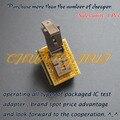 IC ТЕСТ MSOP10 к DIP10 Адаптер Программист CNV-MSOP10-DIP MSOP10 тест разъем Шаг = 0.5 мм ширина = 3.0-4.9 мм