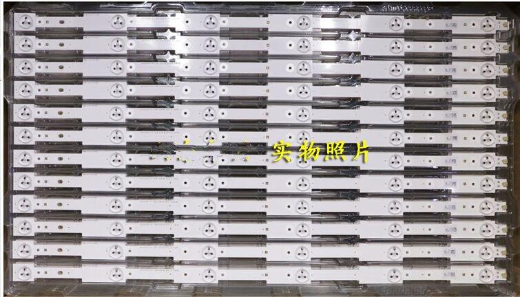 10 sztuk 32 ''562mm * 20mm 6leds LED podświetlenie lampy paski 2013CH320 LVED 3228 w/soczewka optyczna Fliter do telewizora monitora panelu nowy