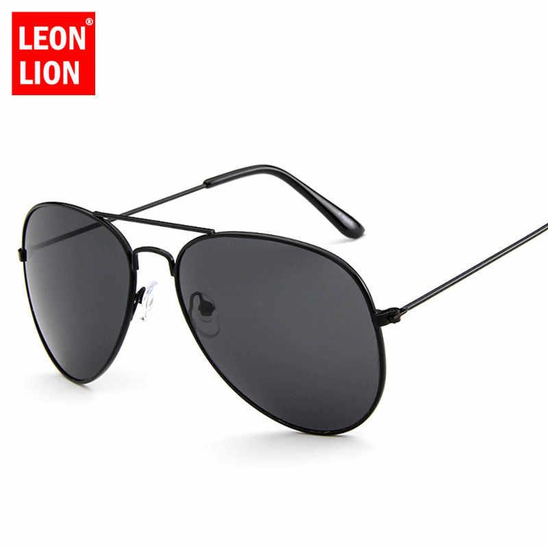 LeonLion 2020 PILOTแว่นตากันแดดผู้หญิง/ชายแบรนด์หรูออกแบบแว่นตากันแดดผู้หญิงVINTAGEขับรถกลางแจ้งOculos De Sol