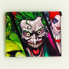 the funny joker wallet men wallets Suicide squad pu leather purse for coins Harry Potter carteiras the Lord of the ring portfel