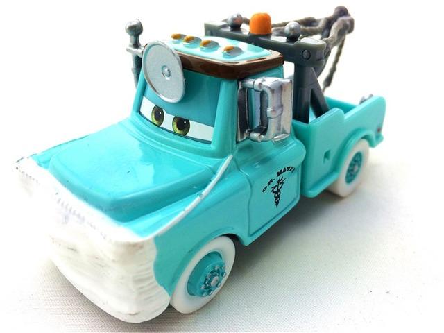 Pixar Cars Comic Dr. Mater Con Máscara de Metal Diecast Toy Car 1:55 Loose Estrenar En la Acción y El Envío gratis
