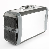 1x Wama 500W Solar 18650 Backup 19V Li ion Rechargeable Battery Storage Portable AC DC Power Supply System for Outdoors