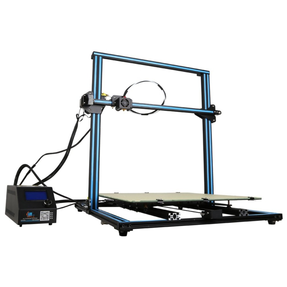 <font><b>3D</b></font> <font><b>Printer</b></font> 500*500*<font><b>500mm</b></font> Large Printing Size With Filament Detector LCD Display DIY Desktop <font><b>Printer</b></font> EU Plug image