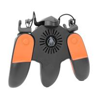 ALLOYSEED Moible Controller Free Fire Gaming Pad Gamepad L1 R1 Trigger Button Joystick Support Cooling For PUBG Accessary