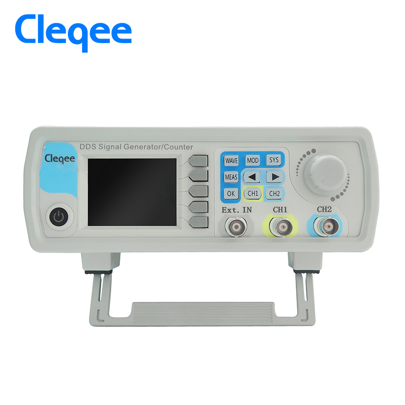 Cleqee JDS6600-15M JDS6600 Series 15MHZ Digital Control Dual-channel DDS Function Signal Generator frequency meter Arbitrary jds6600 series digital control signal generator dual channel dds function arbitrary sine waveform frequency meter 15mhz 46