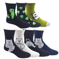 New Brand Elegant Creative Women Socks Cotton Funny Art Alien cartoon Cat girls Socks hosiery female