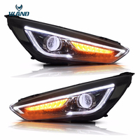 Vland Car Styling Headlights Fit Ford Focus Headlight 2015 2016 2017 Led DRL Double Beam Head Lamp Turnlight Running Light