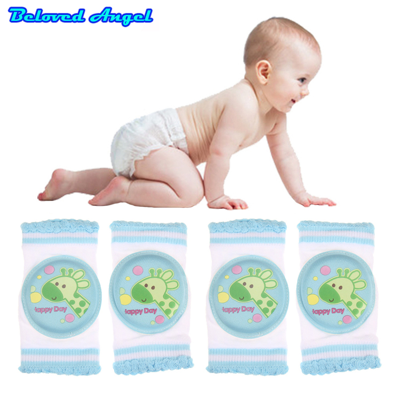 1 Pair Baby Knee Pad Kids Safety Crawling Albow Cushion Protect Baby Knee Cap  Non-Slip Thickening Sheathed Harnesses Leashes