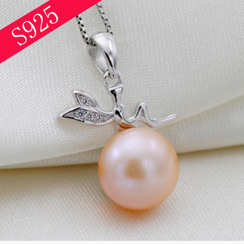 Angel Silver 925 Jewelry Pendant Jewelry Making Accessories Pearl Jewelry diy Material