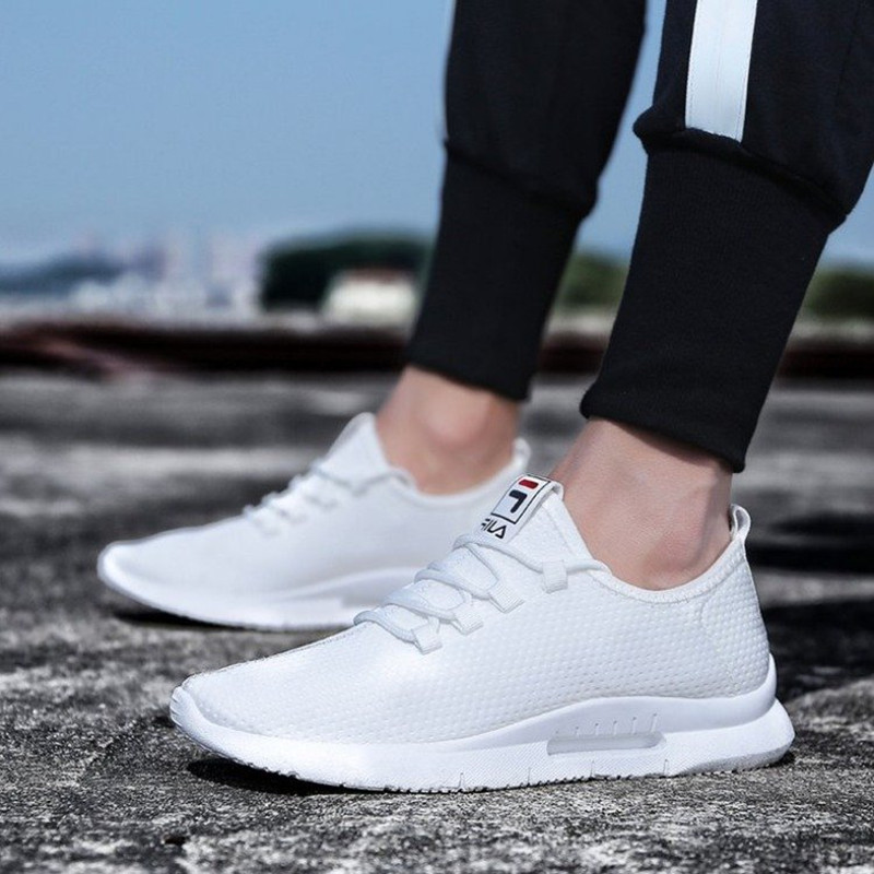 New Fashion Breathable Men Casual Shoes Lightweight Non-leather Men Sneakers Low Top Sport Men Summer Shoes NX003