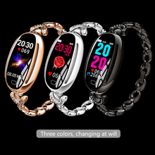 KuWFi Color Screen Women Smart Bracelet Heart Rate Health Monitoring WeChat Sports Reminder Bluetooth Wear