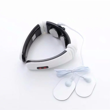 Electric Pulse Back and Neck Massage Far Infrared Heating Pain Relief Tool Health Care Relaxation magnetic therapy
