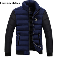 New 2015 Brand Winter Jacket Men Warm Down Jacket Patchwork Mens Winter Outerwear Mens Puffer Coat