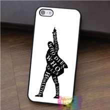Hamilton musical words fashion cell phone case for iphone 4 4s 5 5s 5c SE 6 6s 6 plus 6s plus 7 7plus #B696