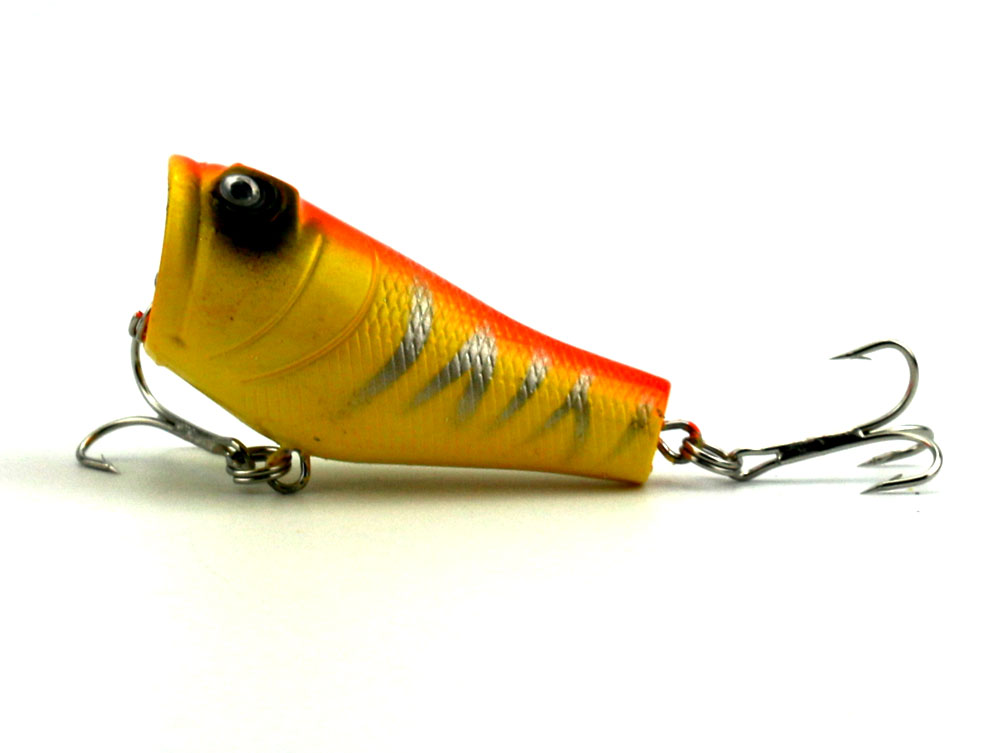 4Pcs Popper žvejybos įrankis 5cm 8g Lifelike Hard Lure - Žvejyba - Nuotrauka 4
