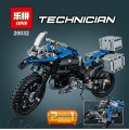 2017 New Lepin 20032 Technic Series The BAMW Off-road Motorcycles R1200 GS Building Blocks Bricks Educational Toys 42063