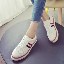 The new summer women's shoes joker casual shoes breathable hollow student shoes all-match Korean white flat shoes